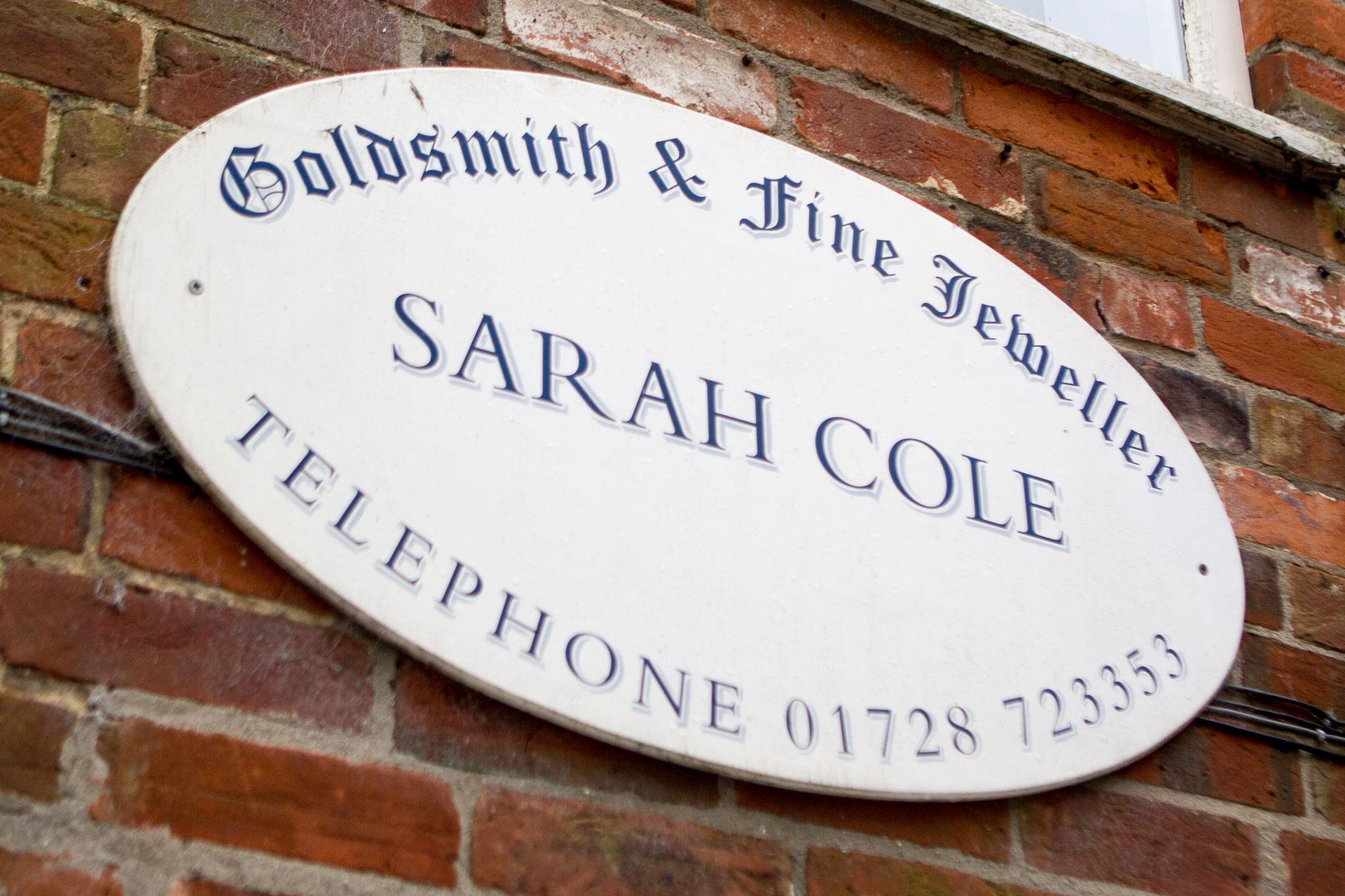 Sarah Cole Goldsmith and Fine Jeweller